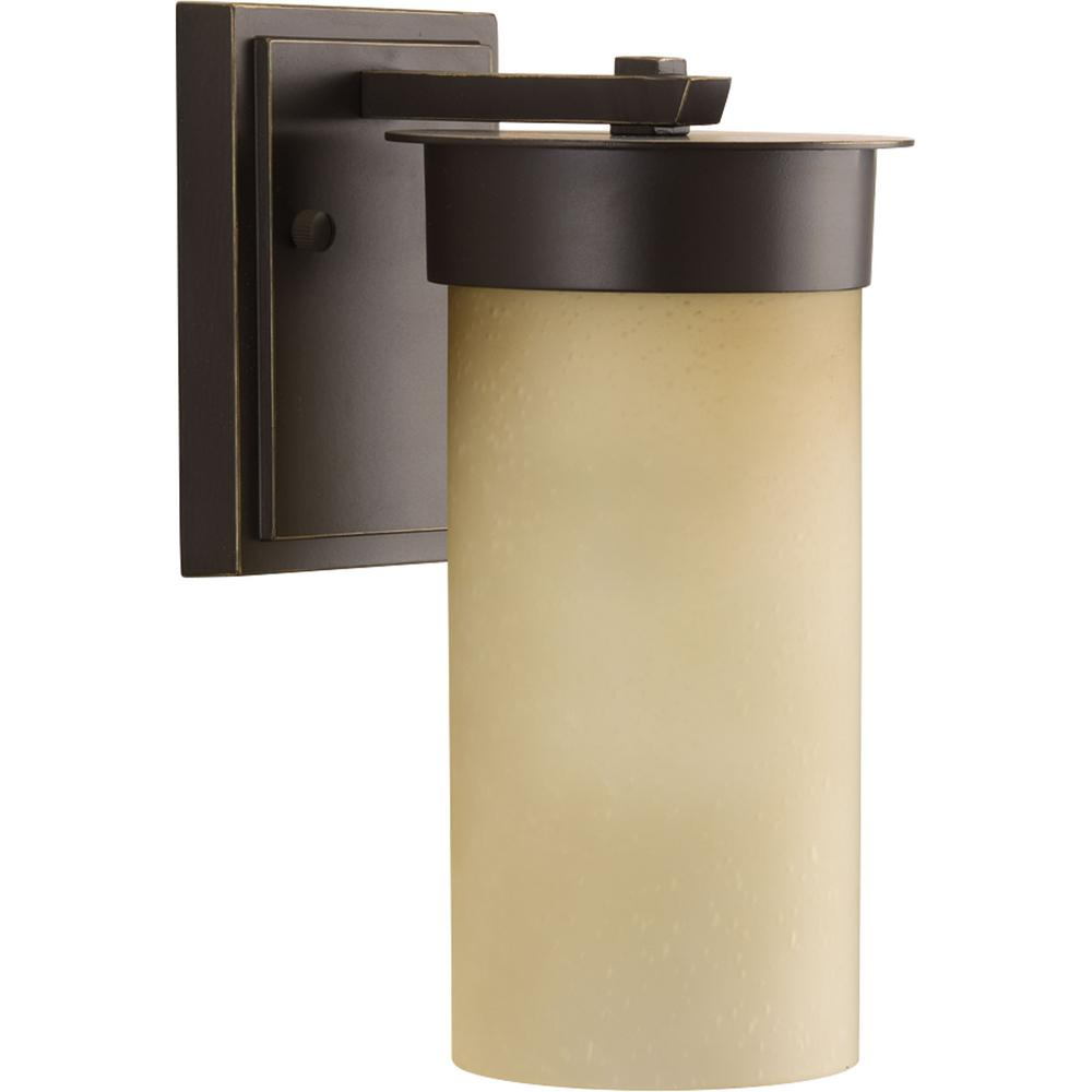Hawthorne 1-Light Outdoor Antique Bronze Small Wall Lantern