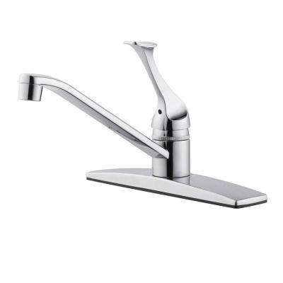 Millbridge Single-Handle Standard Kitchen Faucet in Polished Chrome