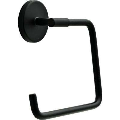 Lyndall Towel Ring in Matte Black
