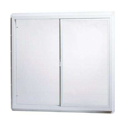 Utility Single Sliding Vinyl Window