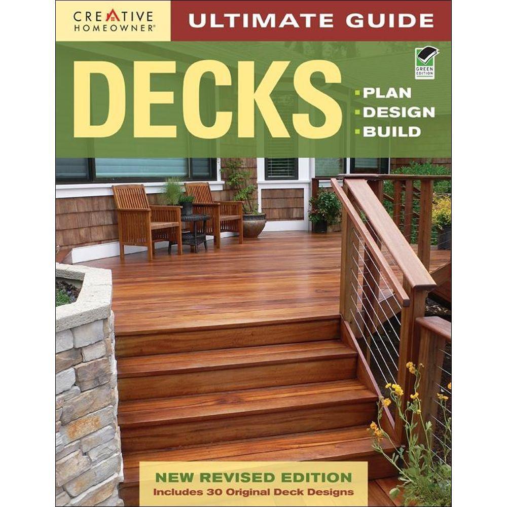 null Ultimate Guide: Decks: Plan, Design, Build (Green, Revised) Book