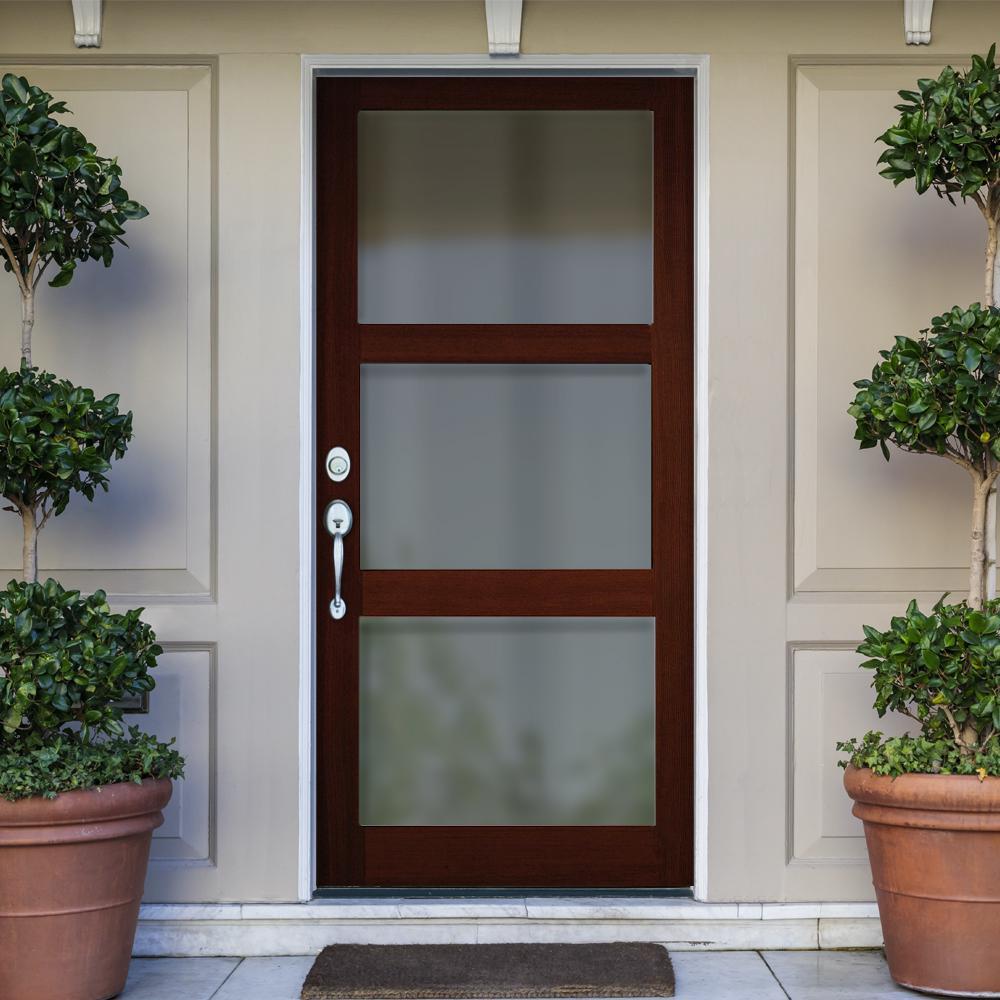Modern Douglas Fir Exterior Wood Door Collection