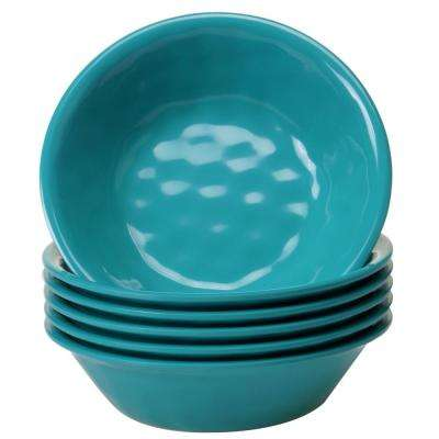 6-Piece Teal Bowl Set