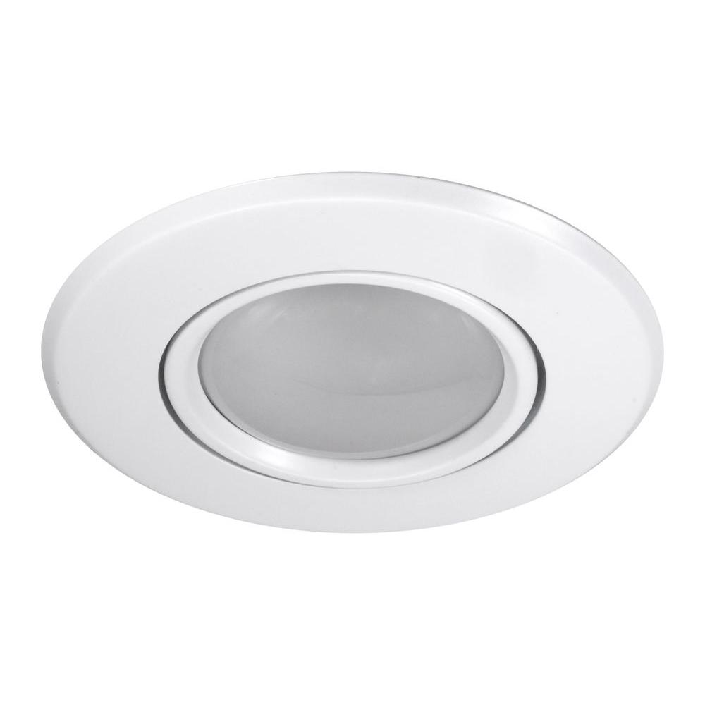 nicor 5 in white recessed gimbal ring trim 15558wh the home depot