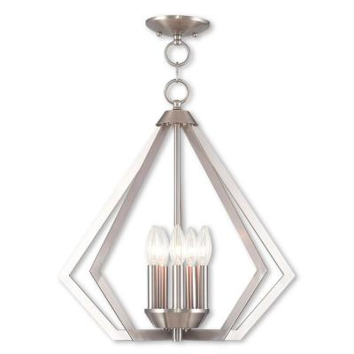 Prism 5-Light Brushed Nickel Chandelier