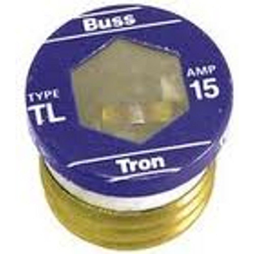 cooper bussmann fuses tl 15pk4 64_1000 fuses power distribution the home depot fuse box cover home depot at bayanpartner.co