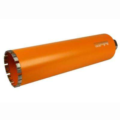 4 in. Diamond Turbo Core Drill Bit for Concrete Drilling