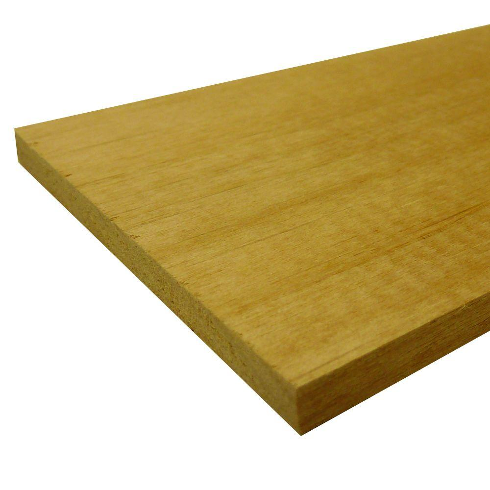 Alder Hobby Board (Common: 1/4 in. x 1-1/2 in. x 4 ft.; Actual: 0.25 in. x 1.5 in. x 48 in.)