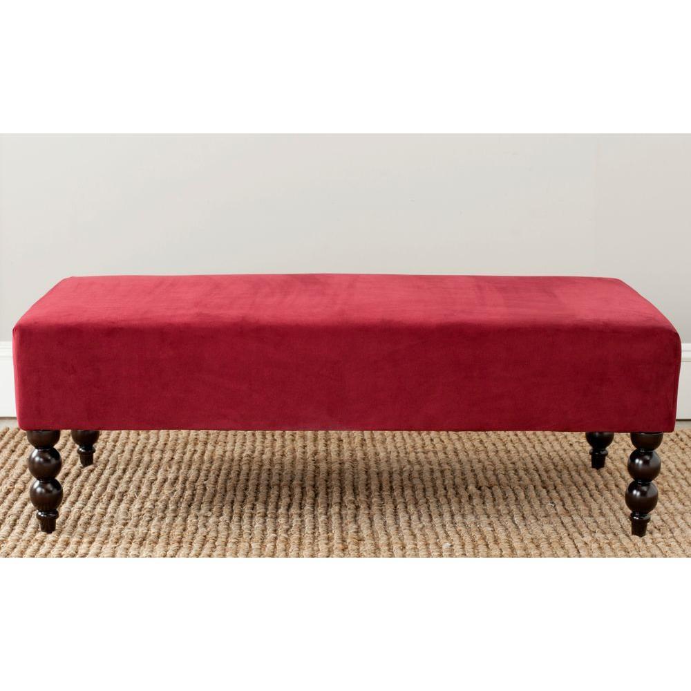 Reagan Red Bench