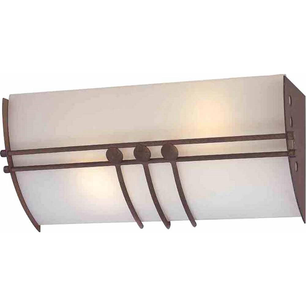 Open Window At Dusk: Volume Lighting Avila 2-Light Indoor Italian Dusk Bath Or