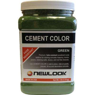 3 lb. Green Fade Resistant Cement Color