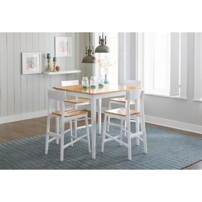 Christy Light/White Counter Table