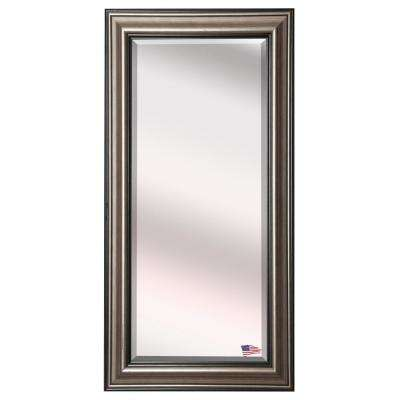 30.5 in. x 71 in. Antique Silver Beveled Oversized Full Body Mirror