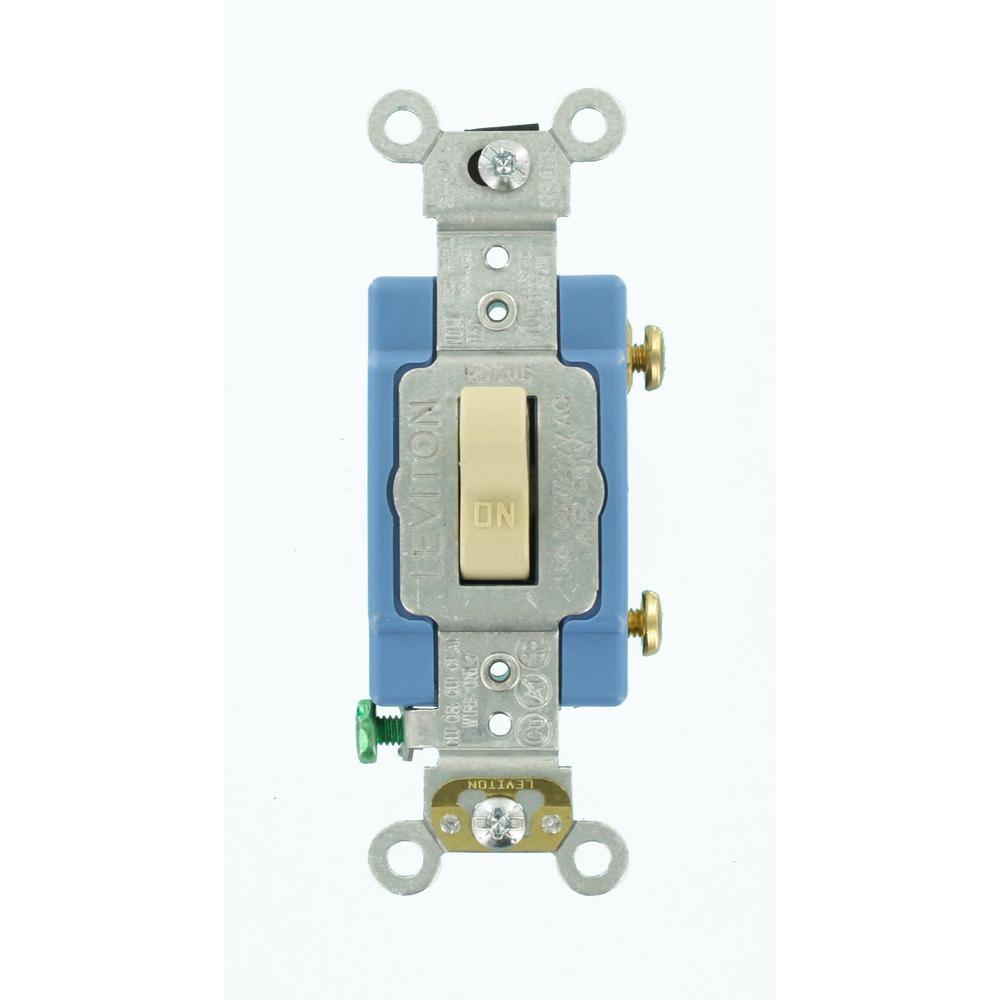 Leviton 1201 Plc Wiring Diagram Schematics Nom 057 Switch 15 Amp Industrial Grade Heavy Duty Single Pole Pilot Light Dimmer