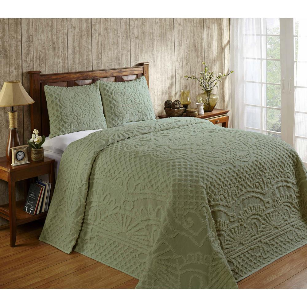 Trevor Sage Twin Bedspread