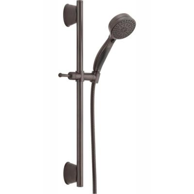 ActivTouch 9-Spray 3.7 in. Single Wall Mount Handheld Shower Head in Venetian Bronze