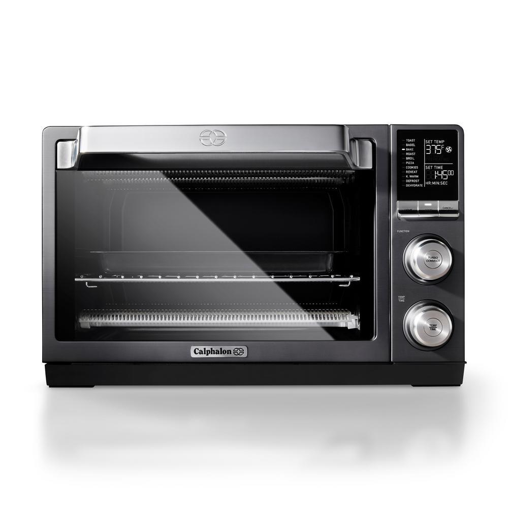 Quartz-Heat 1400 W Stainless Steel Countertop Oven