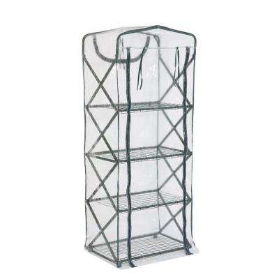 63 in. H x 27 in. W x 18 in. D Plant Tower X-Up Clear Cover