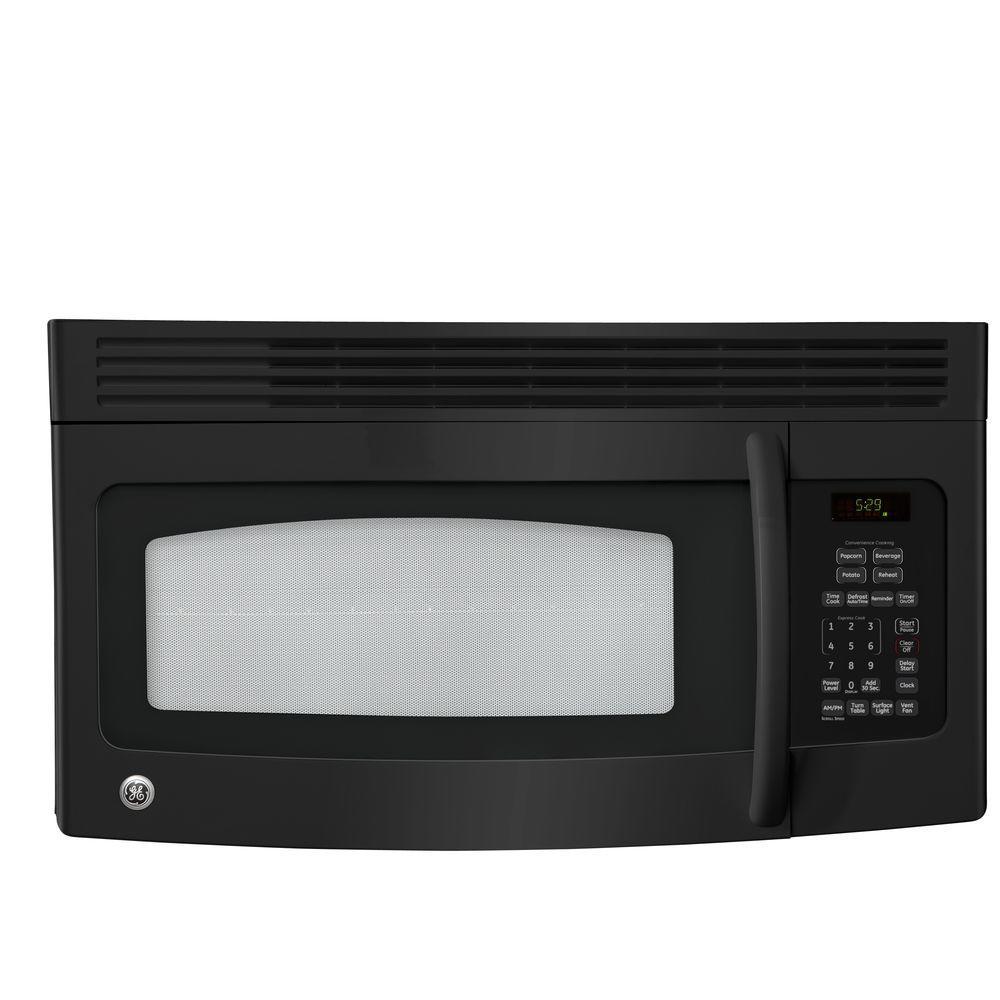 GE Spacemaker 1.5 cu. ft. Over the Range Microwave in Black
