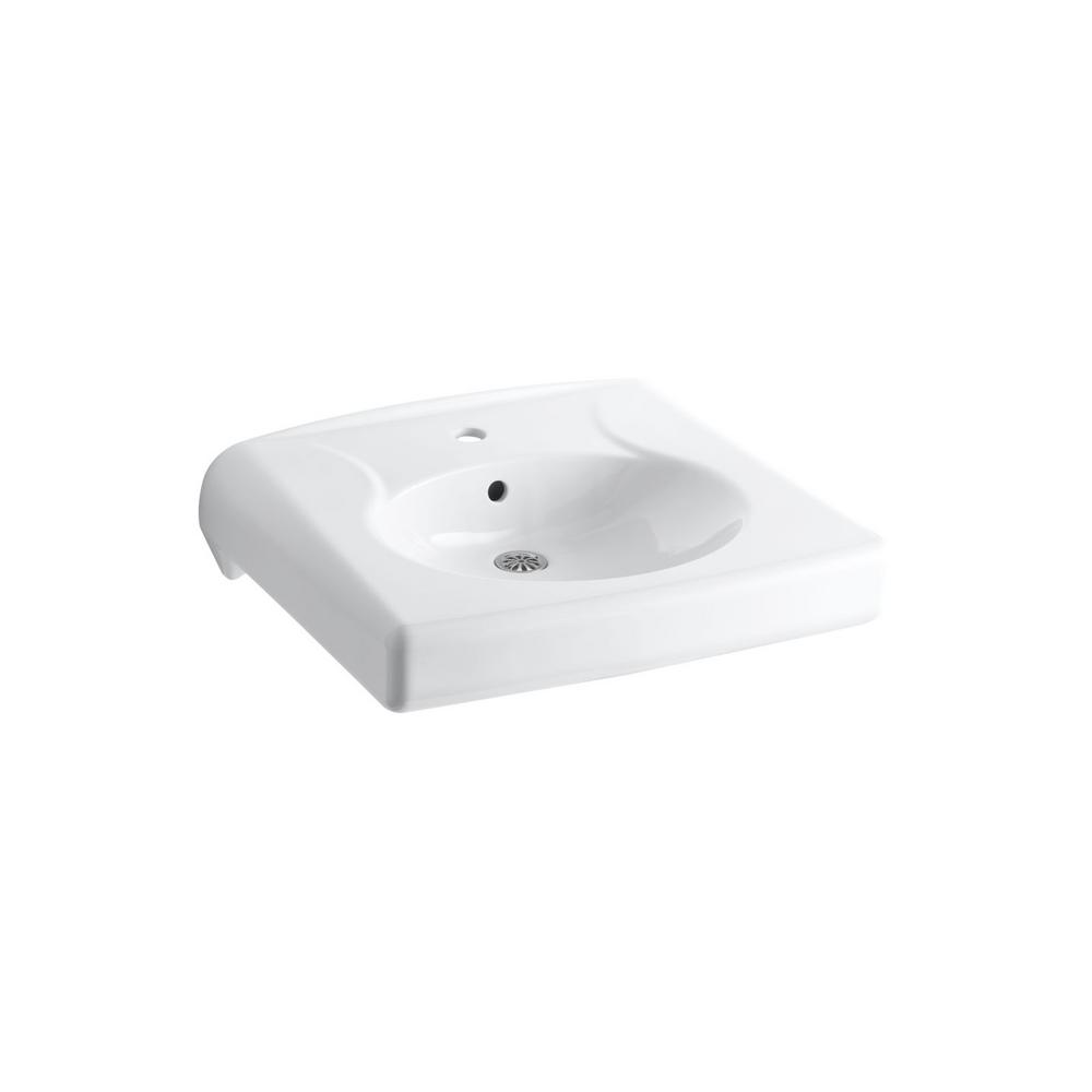 KOHLER Brenham Bathroom Sink in White