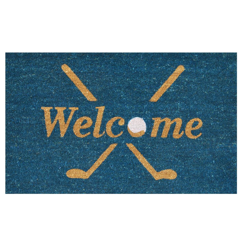 Superieur Home U0026 More Golf Welcome Door Mat 17 In. X 29 ...