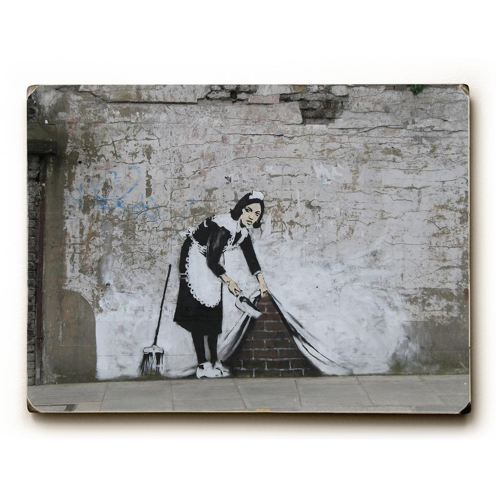 Under The Rug By Banksy Solid