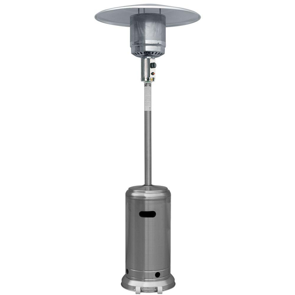 Garden Radiance 41,000 BTU Stainless Steel Full Size Propane Gas Patio  Heater