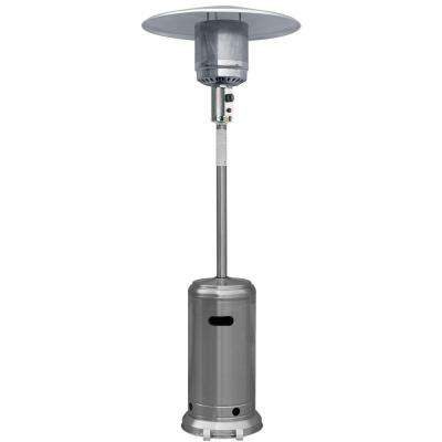 41,000 BTU Stainless Steel Full Size Propane Gas Patio Heater
