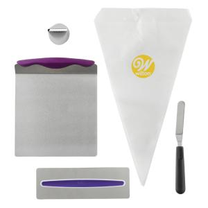 Wilton Cake Decorating Kit for Beginners with Lifter ...