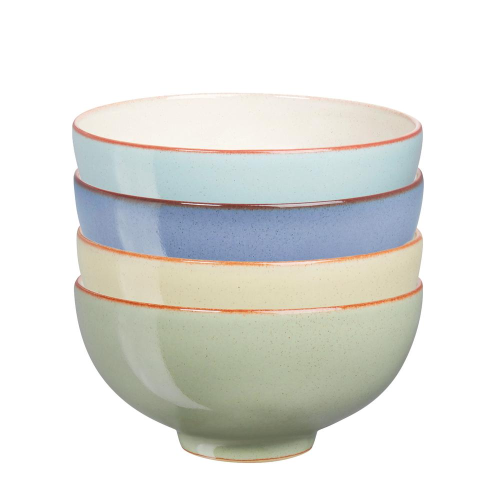 Denby Heritage Assorted Rice Bowls (Set of 4)-HER-209/4 - The Home Depot
