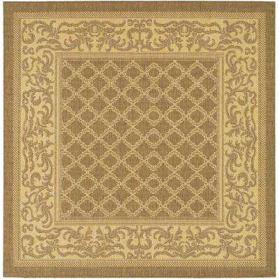 Tan - Square - Solid/Gradient - Outdoor Rugs - Rugs - The Home Depot