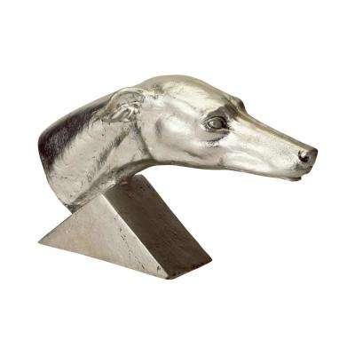 Gilded Age Greyhound Resin Statue