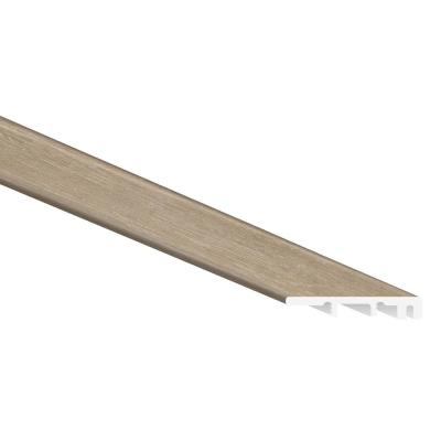 French Oak 1/4 in. Thick x 1 3/4 in. Wide x 94 in. Length Luxury Vinyl End Cap Molding