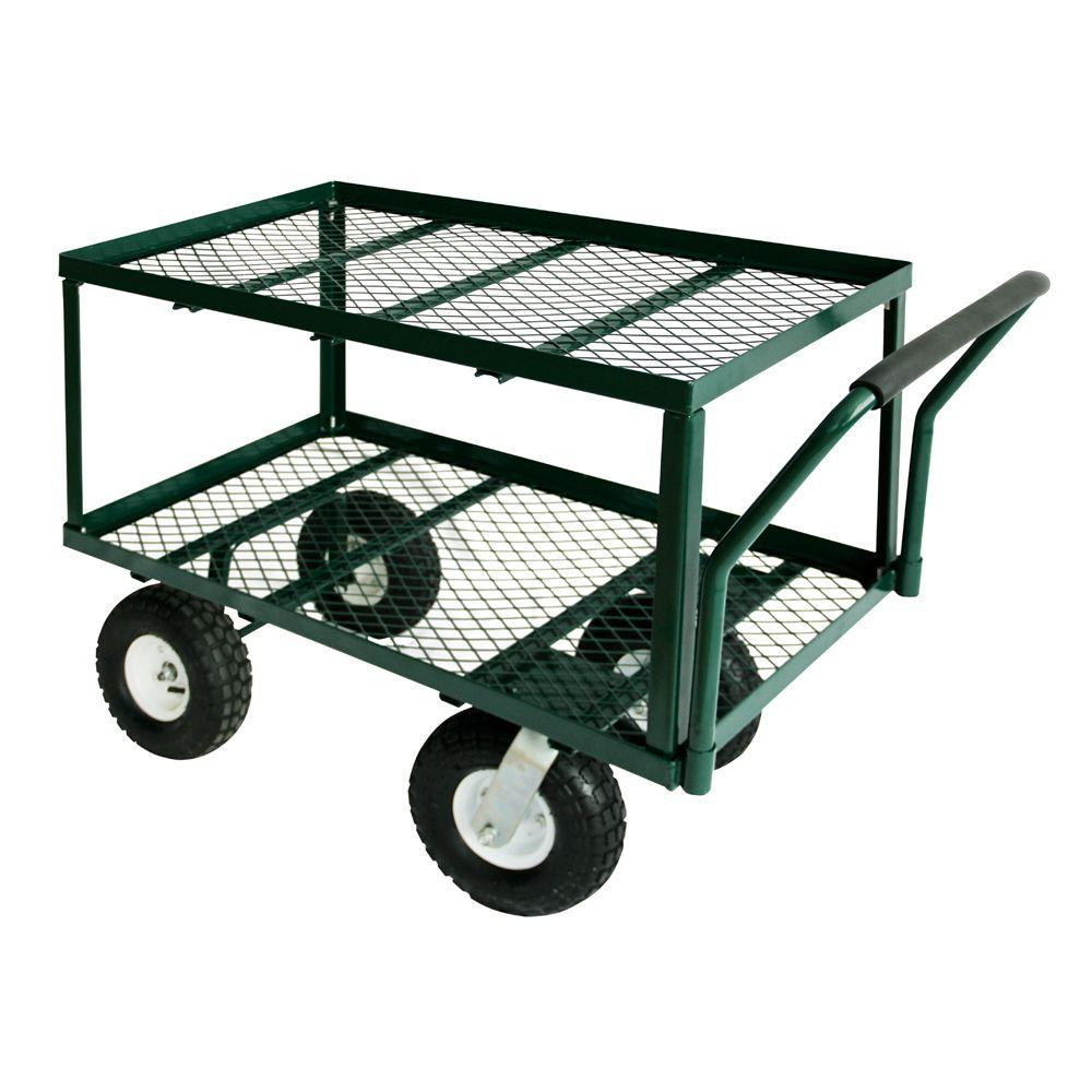 3.5 cu. ft. 20 in. W Utility Cart