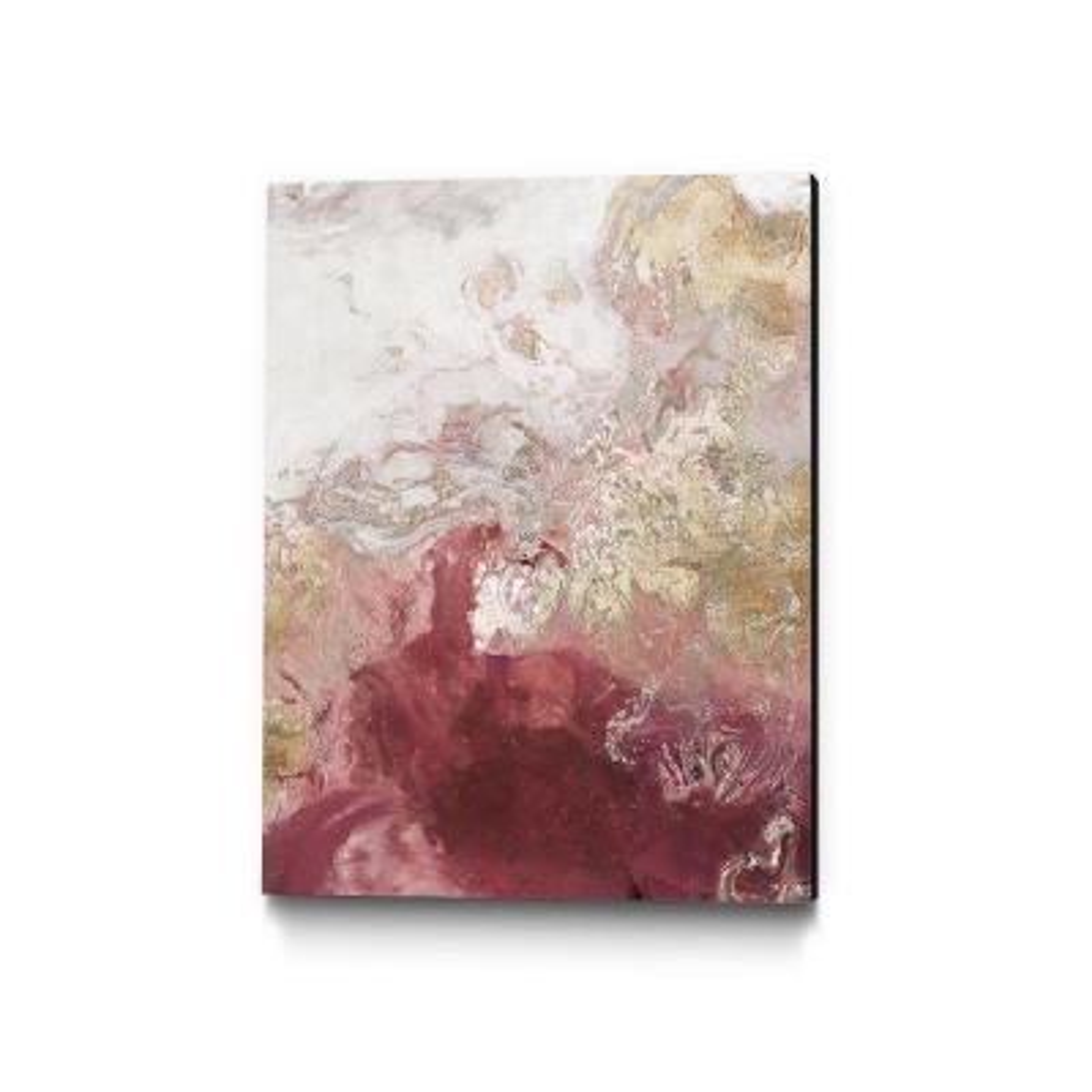 "30 in. x 40 in. ""Ocean Splash II Crimson Version"" by PI Studio Wall Art"