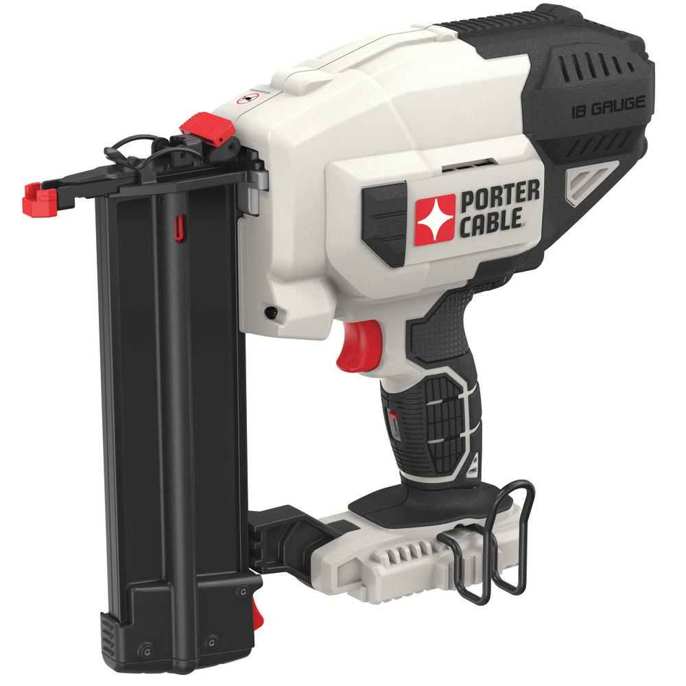 Porter Cable 20-Volt MAX 18 Gauge Cordless Brad Nailer (Tool-Only)