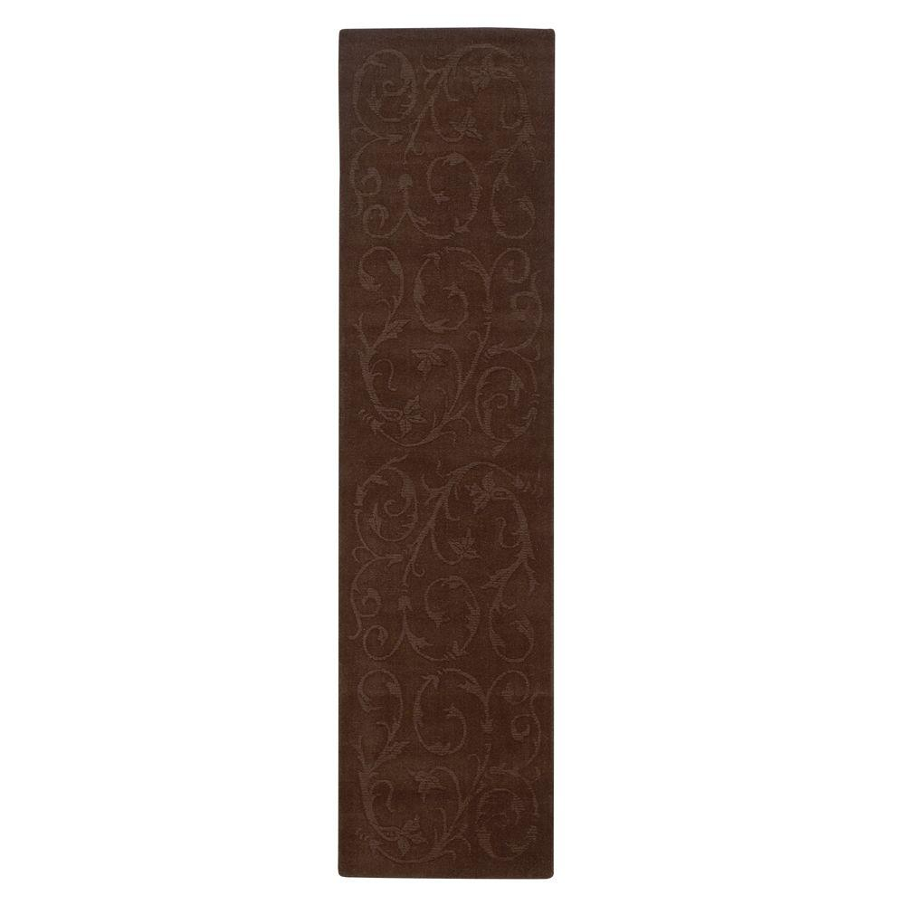 Home Decorators Collection Olympia Brown 2 ft. 6 in. x 10 ft. Rug Runner