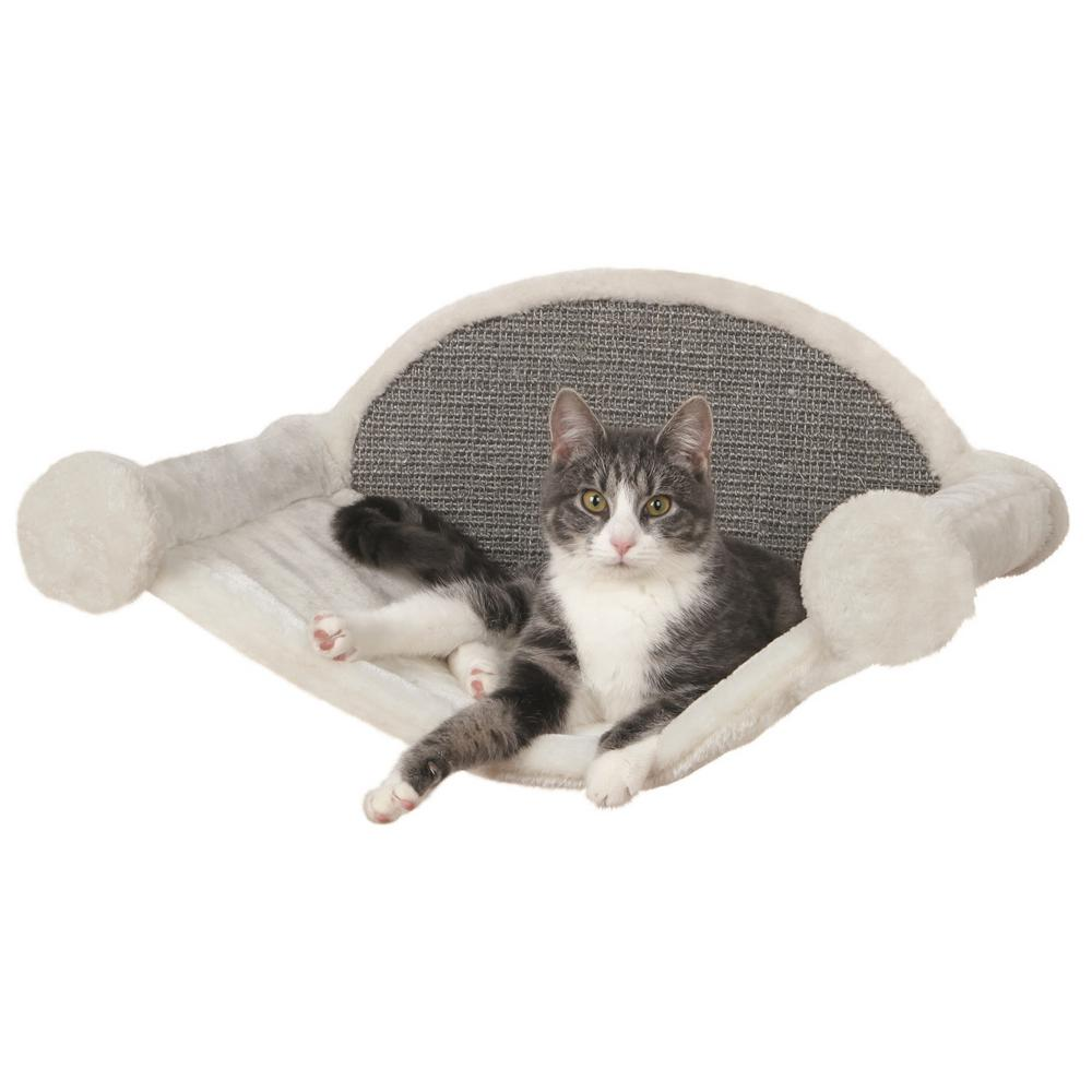 Trixie Cream Gray Wall Mounted Cat Lounging Set 49923