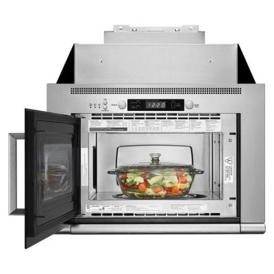 0.7 cu. ft. Over the Range Space-Saving Microwave Hood Combination in Stainless Steel
