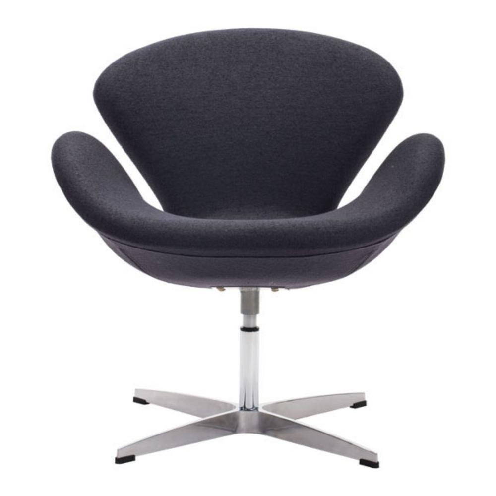 Julia Gray Iron Arm Chair