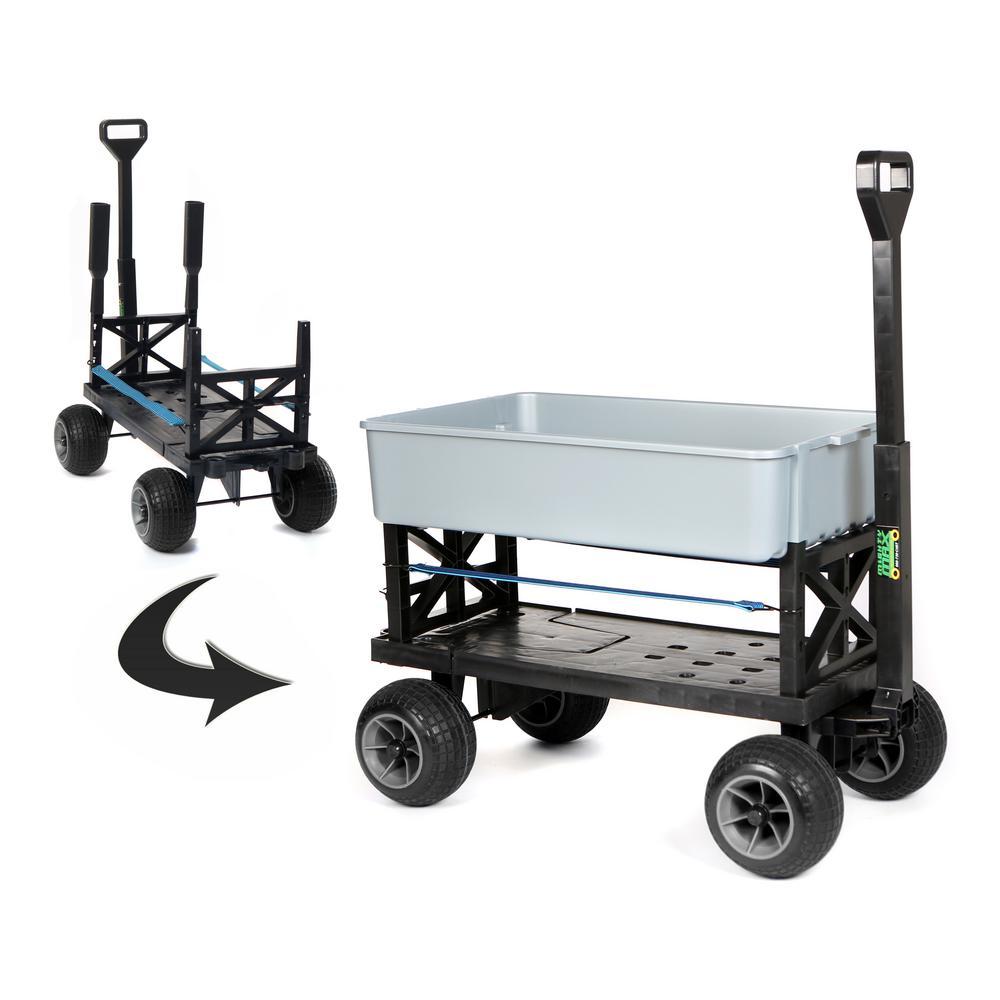 Mighty Max Cart Multi-Purpose Garden Dump Cart