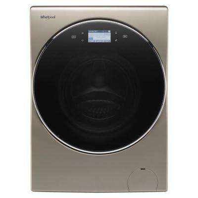 2.8 cu. ft. Cashmere 240-Volt Ventless Smart All-In-One Washer Dryer Combo