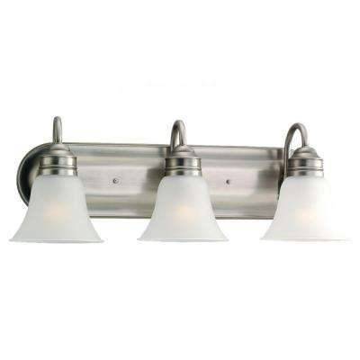 Gladstone 3-Light Antique Brushed Nickel Vanity Fixture