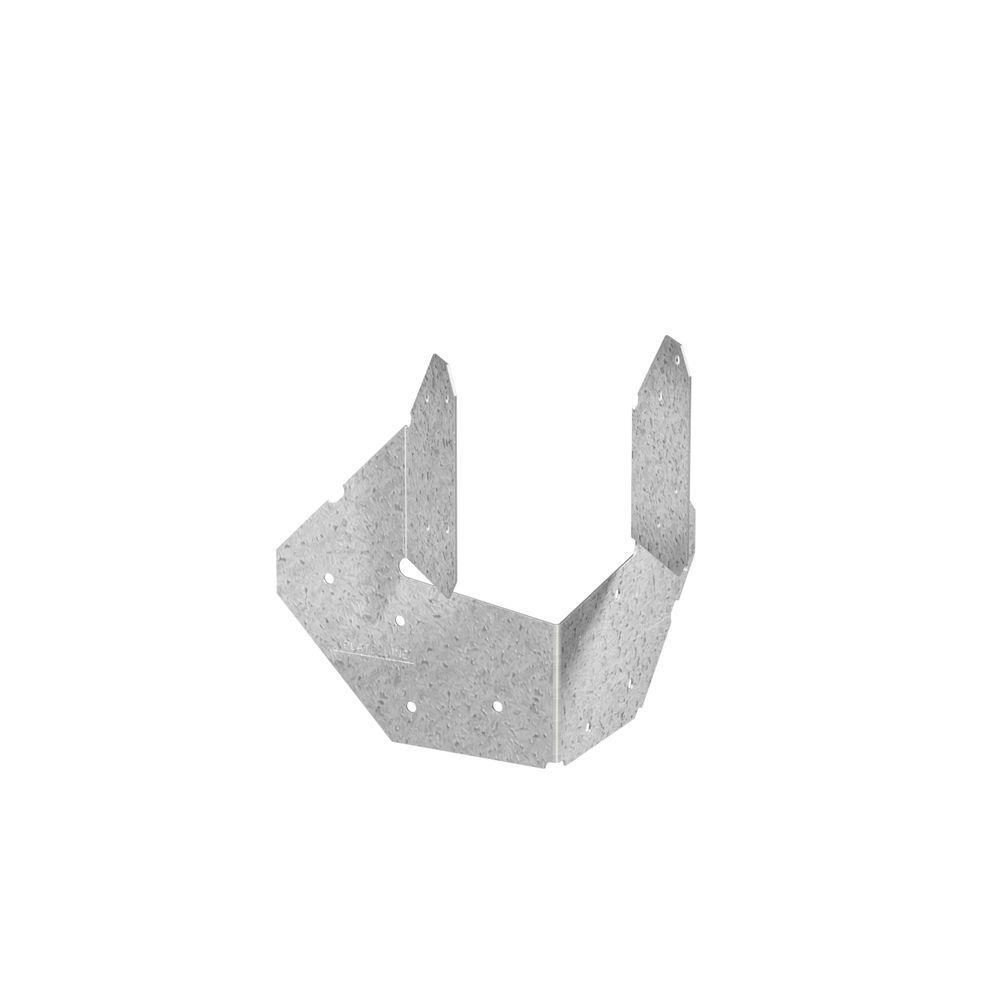 Simpson Strong-Tie Z-MAX 4x 18-Gauge Galvanized Hip Corner Plate