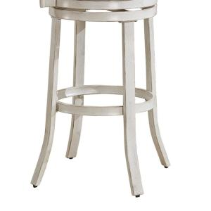 Remarkable American Woodcrafters Palazzo 30 In Antique White Swivel Pdpeps Interior Chair Design Pdpepsorg
