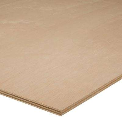 18mm - Sande Plywood ( 3/4 in. Category x 4 ft. x 8 ft.; Actual: 0.709 in. x 48 in. x 96 in.)