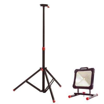 Tripod for Portable LED Work Light and 2500-Lumen Portable LED Work Light