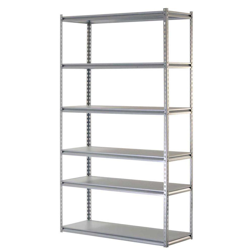 Edsal 6-Shelf Steel Commercial Shelving Unit