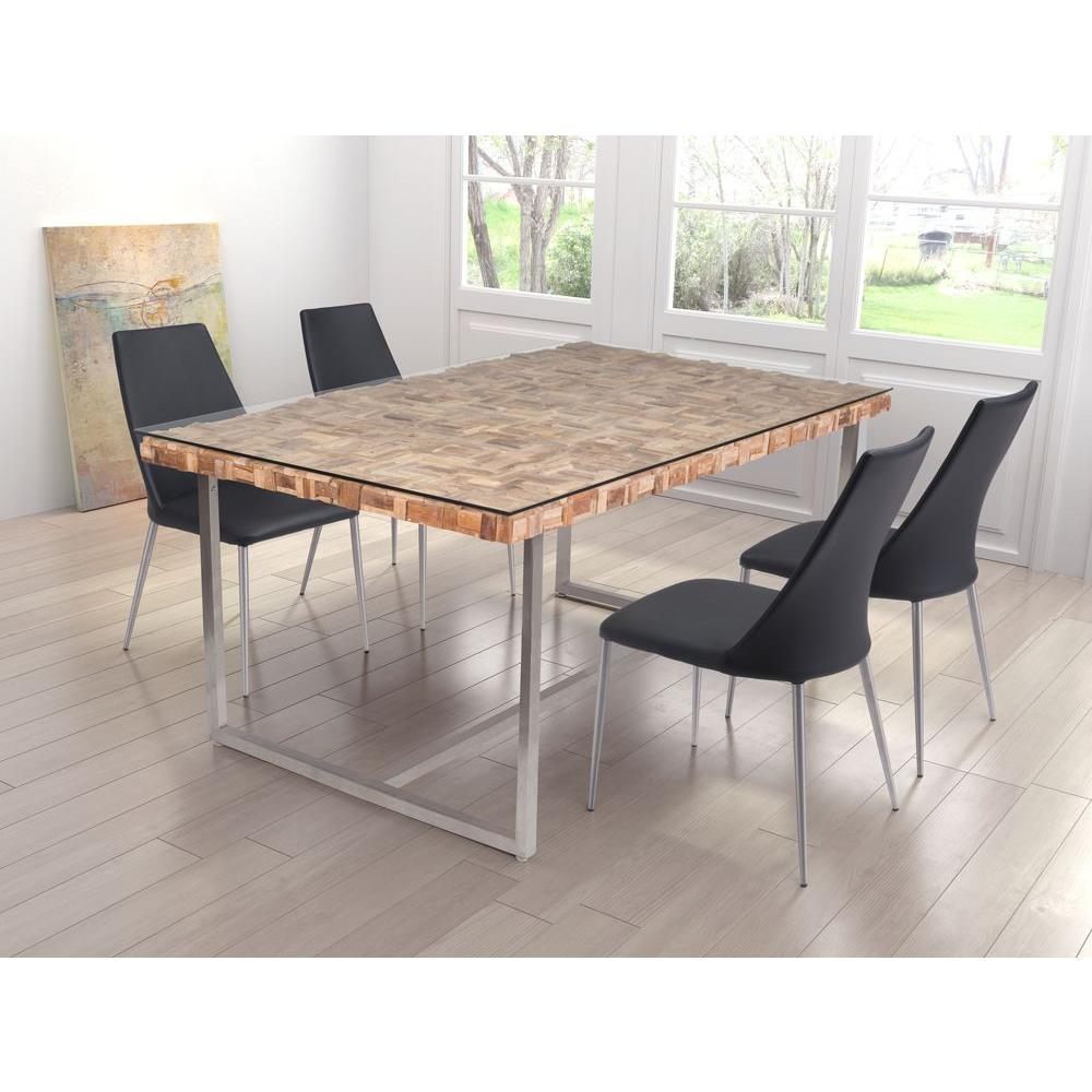 ZUO Collage Natural Dining Table 100260
