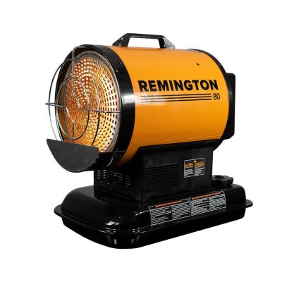 80,000 BTU Radiant Kerosene/Diesel Space Heater with Silent Drive